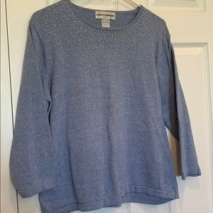 Cathy Daniels 3/4th length Sweater size large